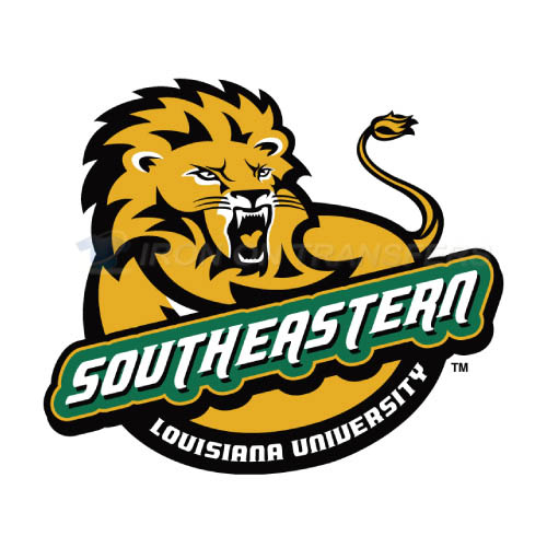 Southeastern Louisiana Lions Logo T-shirts Iron On Transfers N62